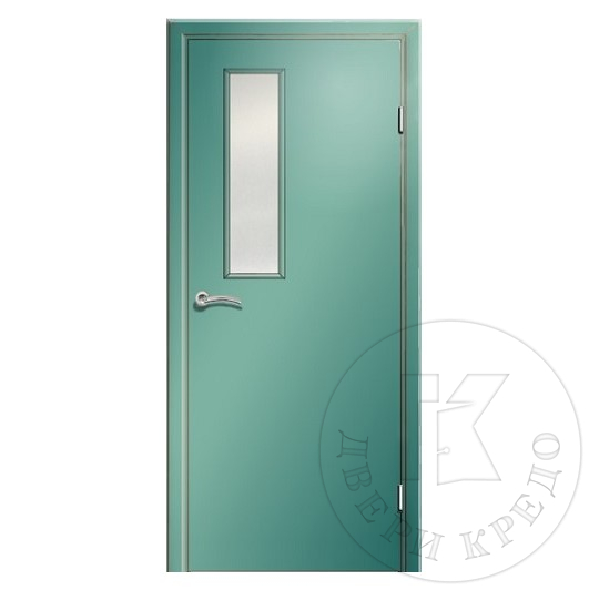 Fire rated glazed door. Model PDO.322.(01) EIS 60 RW 38 dB