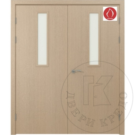 Fire rated glazed door. Model PDO.321.(02) EIS 60 RW 38 dB